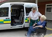 Ambulance used for the Non-emergency Patient Transport Service-